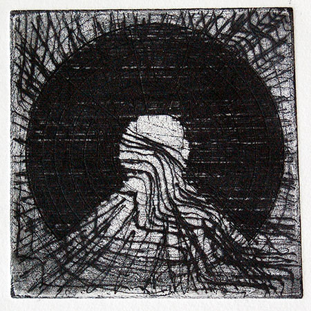 Senla 1, etching by William Dick